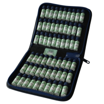 homöopathische Taschenapotheke à 60 homöopathische Einzelmittel nach Dr. M.S. Jus im Lederetui
