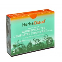 Herbachaud Wärmepflaster 19x7cm 2 Stk