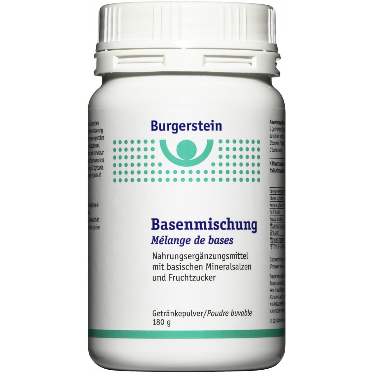 Burgerstein Basenmischung 180 g