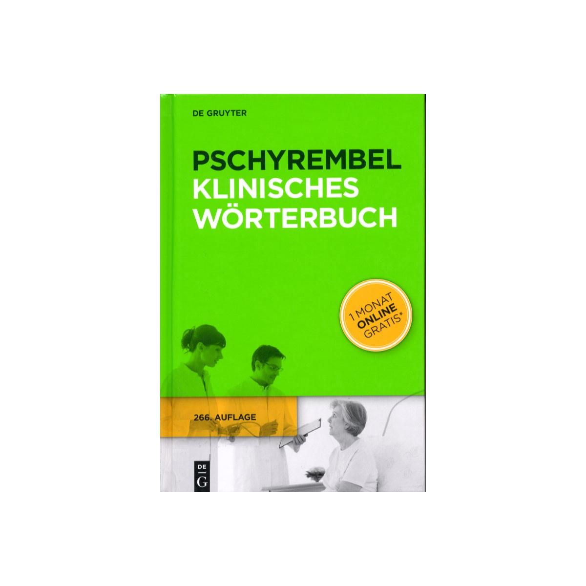 De Gruyter, Pschyrembel Klinisches Wörterbuch