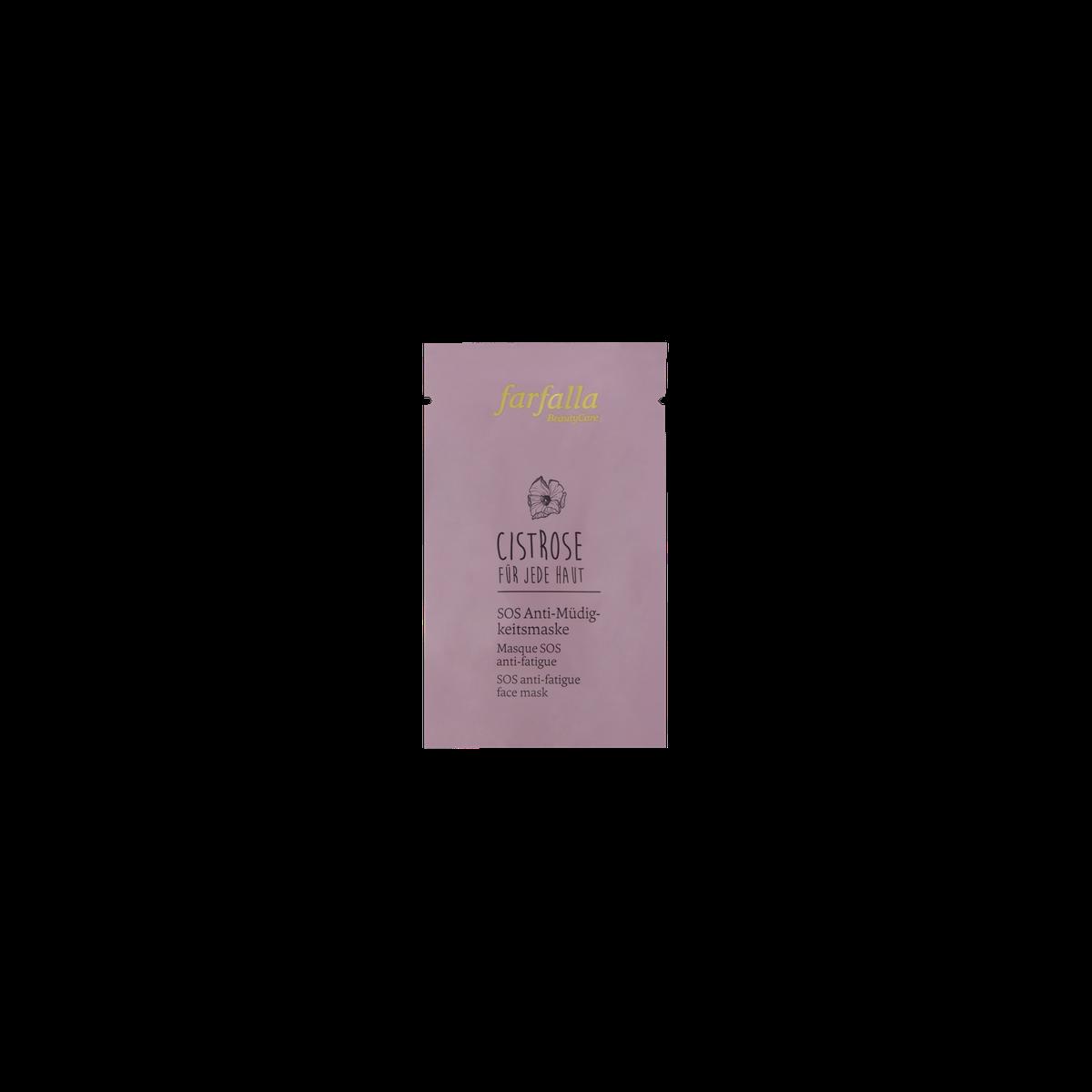 farfalla Cistrose Für jede Haut, SOS Anti-Müdigkeitsmaske 7ml