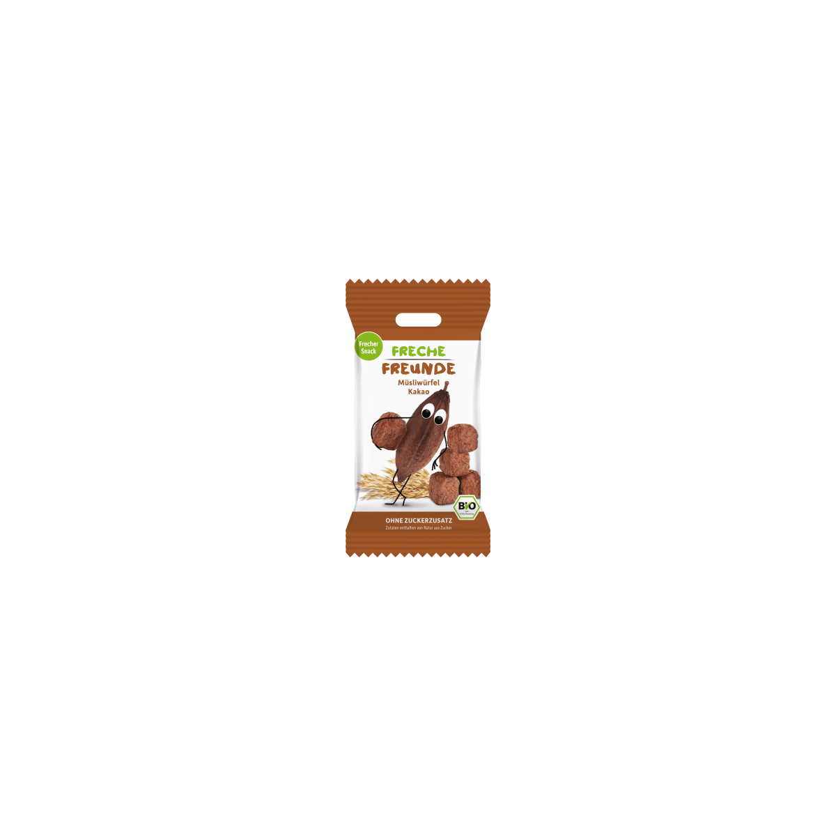 Freche Freunde Müsliwürfel Kakao 20g (6er Pack)
