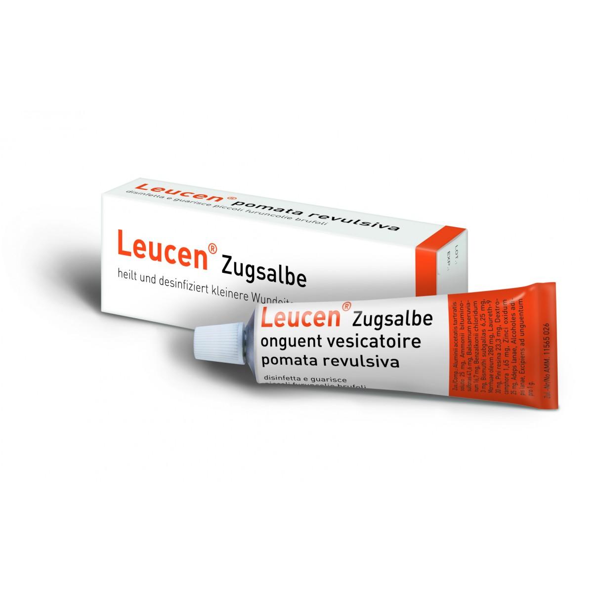 Leucen Zugsalbe 30 g