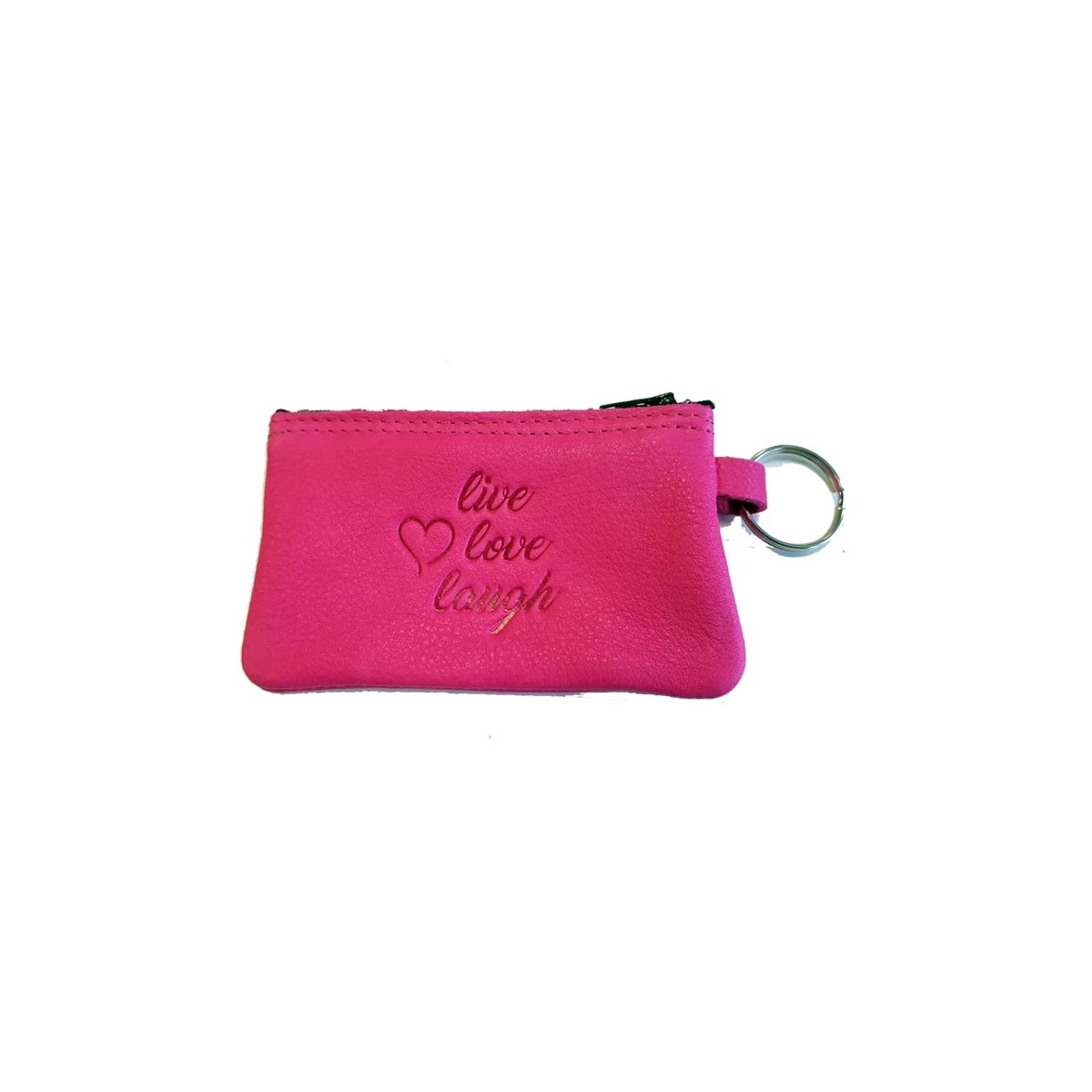 Lotus Schlüsselanhänger Set pink leer live love laugh