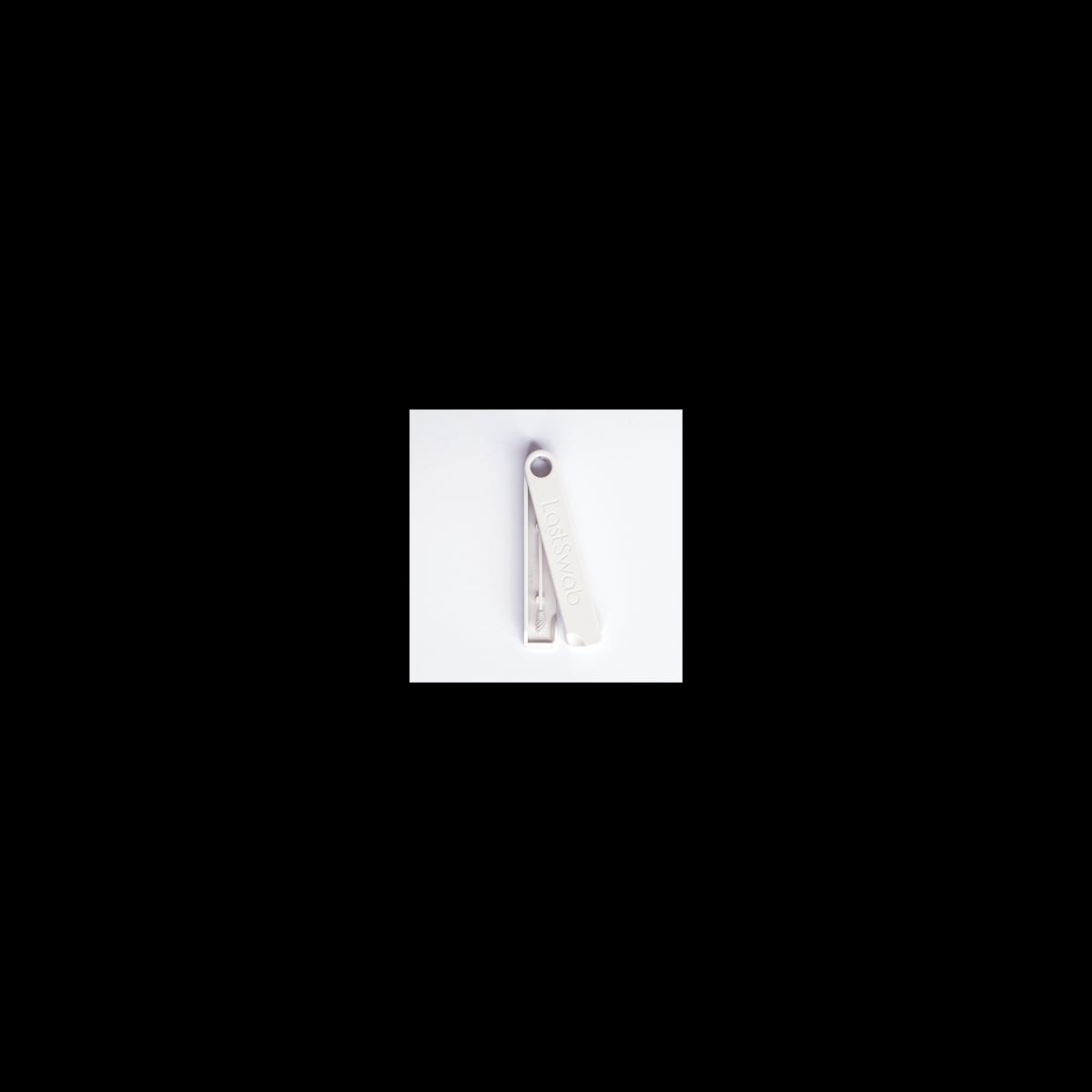 LastSwab das erste wiederverwendbare Wattenstäbchen klassisch weiss
