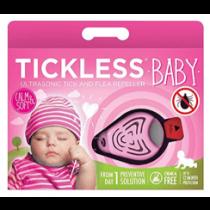 Tickless Baby Zeckenschutz Ultraschall - Gerät rosa