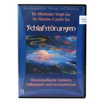 Dr. Mohinder Singh Jus / Dr. Martine Cachin Jus, Hörbuch Schlafstörungen 5 CD's