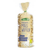 Allos Amaranth-Mais Waffel mit Meersalz 6 Pack à 100 g