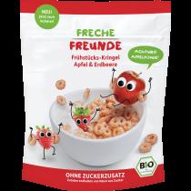 Freche Freunde Frühstücks-Kringel Apfel & Erdbeere 125g (6er Pack)