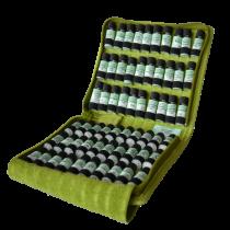 homöopathische Taschenapotheke à 60 homöopathische Einzelmittel nach M.S. Jus im Bio - Lederetui Lotus