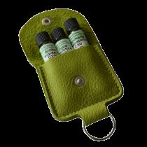 Lotus Schlüsselanhänger komplett mit 3 homöopathischen Einzelmittel