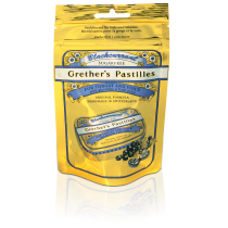 Grethers Blackcurrant Past ohne Zucker refill Beutel 100 g