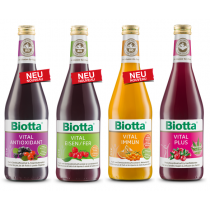 Biotta Vital Säfte 6 Stk. assortiert