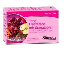 Sidroga Früchtetee mit Granatapfel 20 Btl