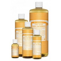 Dr. Bronner's 18 in 1 Naturseife flüssig Zitrus-Orange 240ml