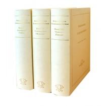 Samuel Hahnemann, Hahnemanns Arzneimittellehre 3 Bände