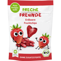 Freche Freunde Fruchtchips Erdbeere Beutel 12g (6er Pack)