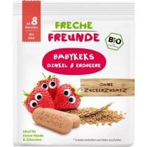 Freche Freunde Babykeks Dinkel & Erdbeere 100g (6er Pack)