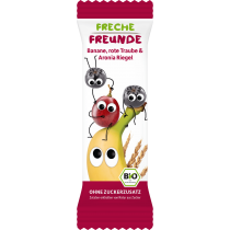 Freche Freunde Banane, rote Traube & Aronia Riegel 4 x 23g (6er Pack)