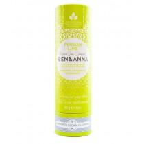 Ben & Anna natürlicher veganer Deodorant Stick ohne Aluminium PERSIAN LIME 60g