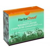 Herbachaud Wärmepflaster 19x7cm 6 Stk