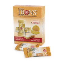 Piniol Ingwer Bonbon Orange Box 60 g