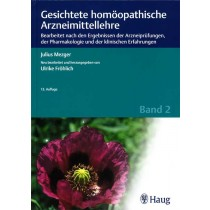Mezger J. & Fröhlich Ute, Gesichtete homöopathische Arzneimittellehre