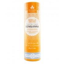 Ben & Anna natürlicher veganer Deodorant Stick ohne Aluminium VANILLA ORCHID 60g