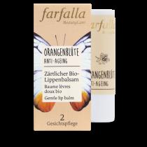 farfalla Orangenblüte Anti-Ageing, Zärtlicher Bio-Lippenbalsam 4g