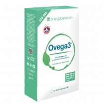 Energybalance Ovega3 90 Fischölkapseln (mit 3 natürlichen Antioxidantien Astaxanthin, Q10 + Vitamin C)