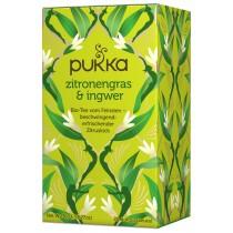 Pukka Zitronengras und Ingwer Tee Bio 20 Btl