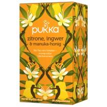 Pukka Zitrone, Ingwer und Manuka Honig Tee Bio 20 Btl
