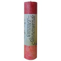 Allgäuer Heilkräuter-Kerze Sommer Sonnenwende