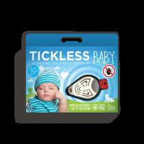 Tickless Baby Zeckenschutz Ultraschall - Gerät hellblau