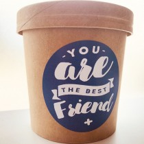 Hafer Waldbad - you are the best friend - veganes Milchbad