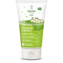 Weleda Kids 2in1 Shower & Shampoo Spritzige Limette 150 ml