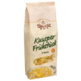 Baukhof Bio Knusper Frühstück 3-Korn
