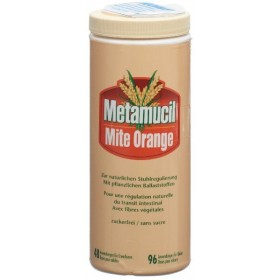 Metamucil Mite Orange Puvler 283g