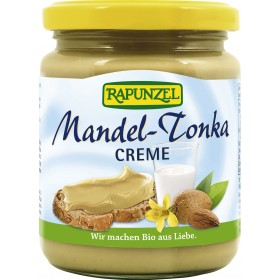 Rapunzel Creme Mandel Tonka Glas 250 g