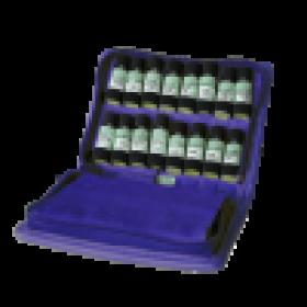 homöopathische Kinder Taschenapotheke à 32 homöopathische Einzelmittel  im Bio - Lederetui Lotus