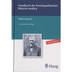 Boericke William  Handbuch der homöopathischen Materia Medica