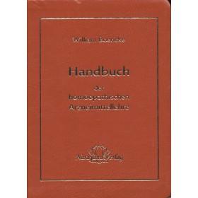 Boericke William Handbuch der homöopathischen Arzneimittellehre Taschenbuch