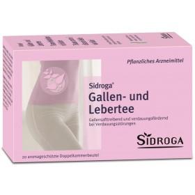 Sidroga Gallen- und Lebertee 20 Btl