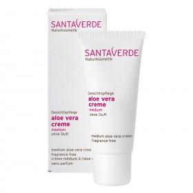 Santaverde aloe vera creme medium ohne duft 30 ml