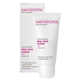 Santaverde aloe vera creme rich ohne duft 30 ml