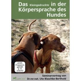 Blaschke-Berthold Ute, Das Kleingedruckte in der Körpersprache des Hundes DVD