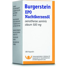 Burgerstein EPO Nachtkerzenöl 180 Kaps