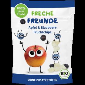 Freche Freunde Fruchtchips Apfel & Blaubeere Beutel 16g (6er Pack)