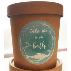 Kokos Milchbad - take me to the bath - veganes Milchbad