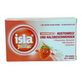 Isla Junior Halspastillen  für Kinder 20 Stk